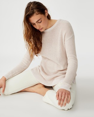 Cotton On Archy 6 Pullover - Jumpers & Cardigans (Rose Dust Gardenia)