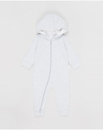 Purebaby - Quilted Growsuit - Babies