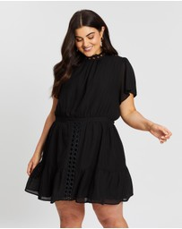 Atmos&Here Curvy - Lily Lace Insert Dress
