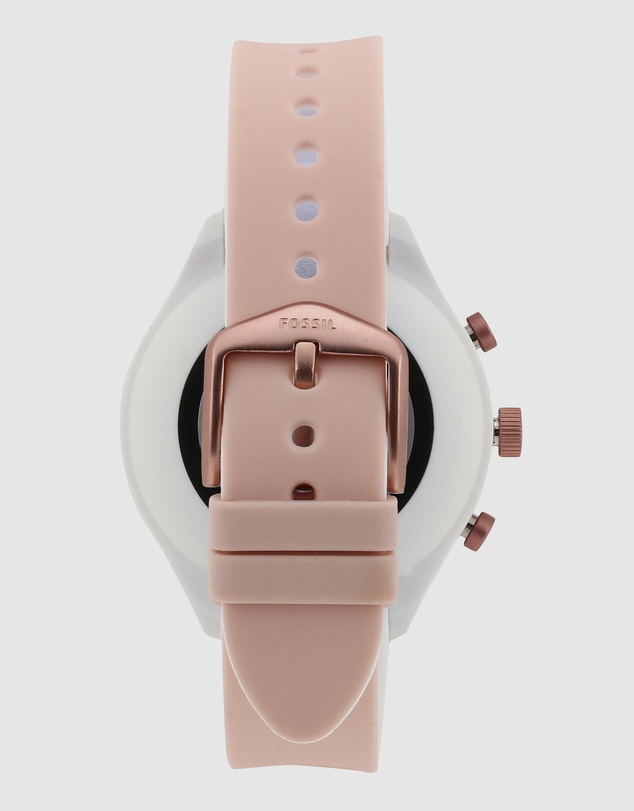 Fossil - Fossil Sport Smartwatch - 41mm Blush Silicone