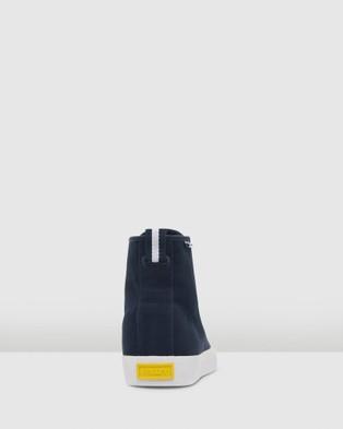 Volley Deuce High - High Top Sneakers (Navy/White)