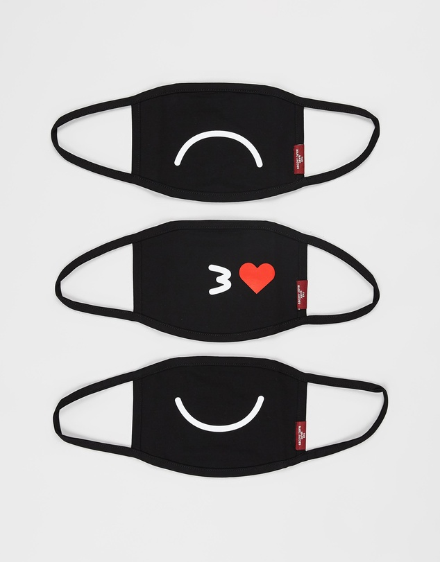 The Marc Jacobs - 3-Pack Smiley Mask Set