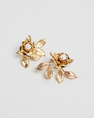 Nikki Witt Tiffany Earrings - Jewellery (Gold)