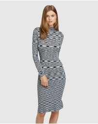Oxford - Penny Knitted Turtle Neck Dress