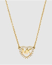 Michael Kors - Hearts Gold-Tone Necklace