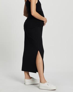 Angel Maternity Maternity Midi Skirt - Pencil skirts (Black)