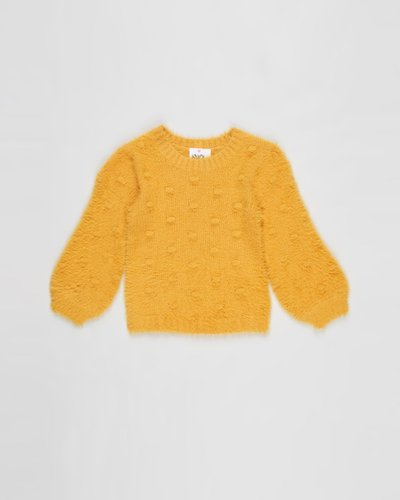 Bobble Fluffy Knit - Kids
