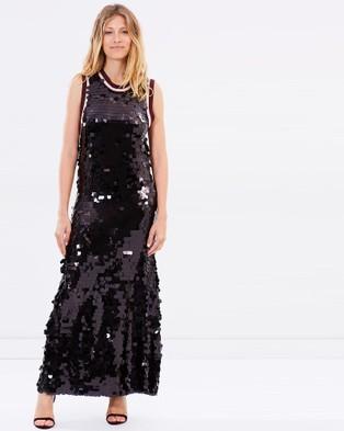 COOP by Trelise Cooper – Stay Too Long Dress – Dresses (Dark Crystal)