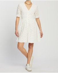 ONLY - Oda Life SS Broderie Anglaise Dress