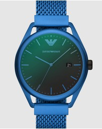 Emporio Armani - Blue Analogue Watch AR11328