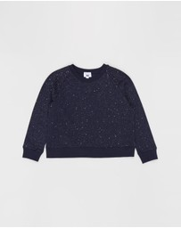 Free by Cotton On - Boxy Crew Neck Jumper - Teens