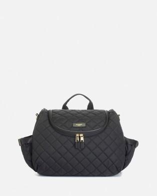 Storksak Poppy Quilt Nappy Bag - Backpacks (Black)
