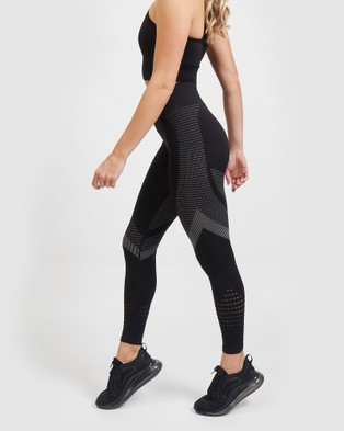 Core Trainer Synergy Tights - Sports Tights (Black)