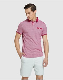 Oxford - Sebastian Feather Stripe Polo
