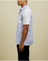 Wood Wood - Thor Stripe Short Sleeve Shirt