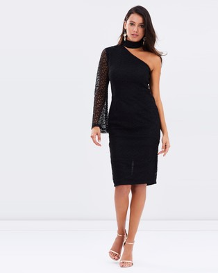 Ivory & Chain – Mercy Lace Dress – Dresses (Black)