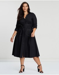 Atmos&Here Curvy - ICONIC EXCLUSIVE - Shirt Dress