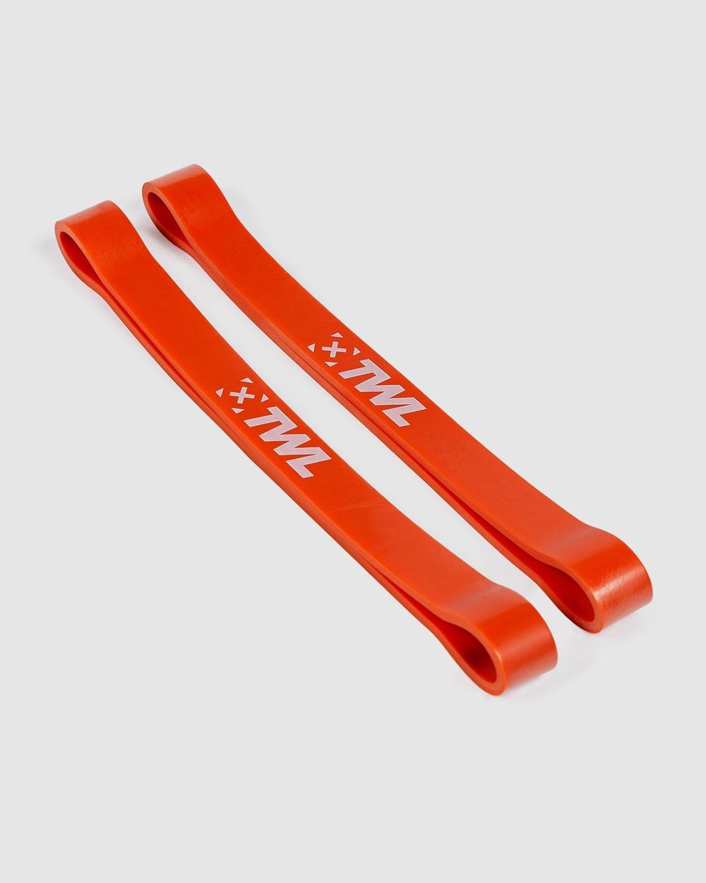 "The WOD Life Short Resistance Power Bands 7 8"" Training Equipment Orange 7-8"""
