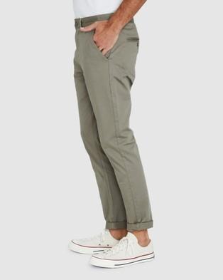 Arvust Hoxton Chinos - Pants (GREEN)