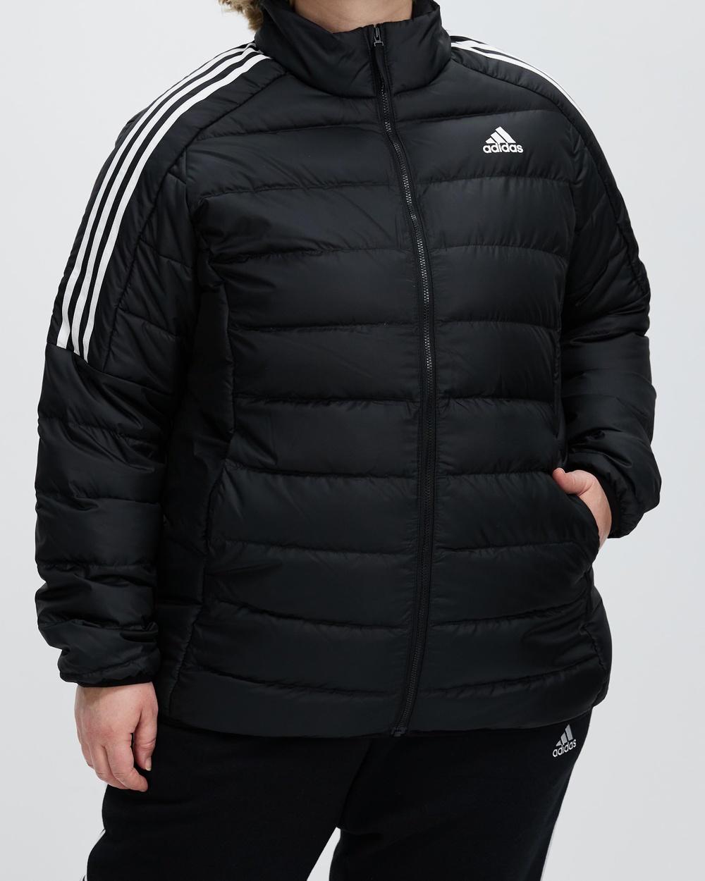 adidas Performance Essentials Light Down Jacket and Coats Black
