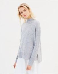 FRIEND of AUDREY - Speckle Cashmere Sweater