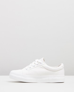 Dazie Posy Sneakers - Sneakers (White Canvas)