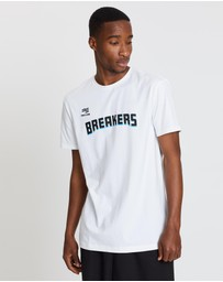 First Ever - NBL - New Zealand Breakers 19/20 Wordmark Lifestyle Tee