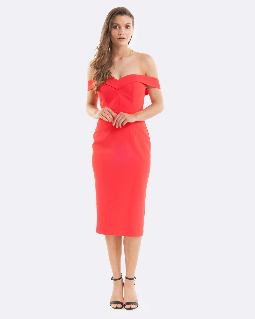 Amelius Moonlit Palm Dress Dresses Scarlet Moonlit Palm Dress