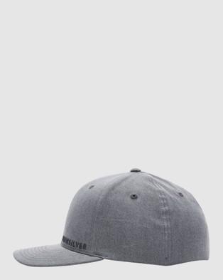 Quiksilver Mens Sidestay Flexfit Hat - Headwear (Black)