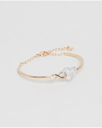Swarovski - Infinity Heart Bangle