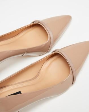 Nina Armando Shar II - Mid-low heels (Nude Patent)