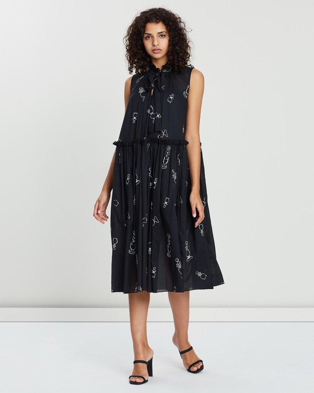 31f403286d0 Dead Draw Dress by Karen Walker Online