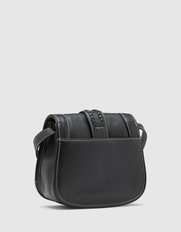 Women Isabeau Leather Saddle Bag