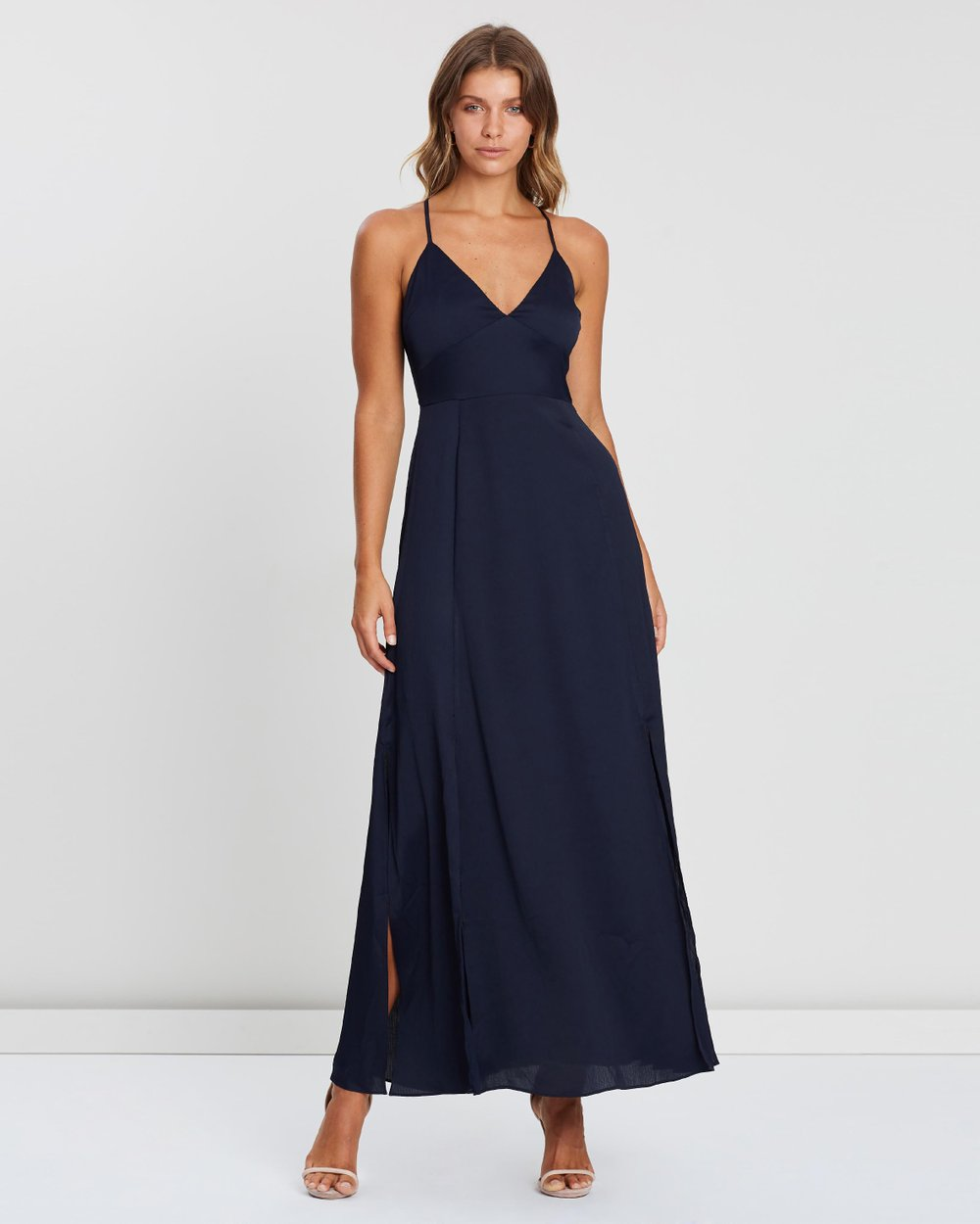 ebd1a913d2d4 ICONIC EXCLUSIVE - Maxi Dress with Splits by Atmos Here Online