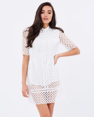 Ministry of Style – Daisy Chain Dress – Dresses (Ivory)