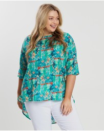 Advocado Plus - Harlem High-Low Tunic