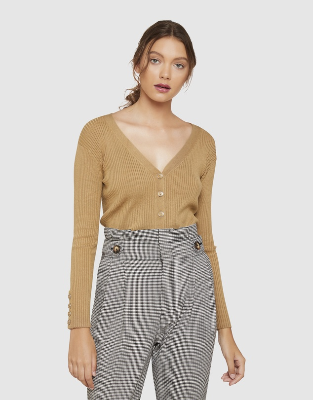 Oxford - Phillipa Button Down Detail Cardigan
