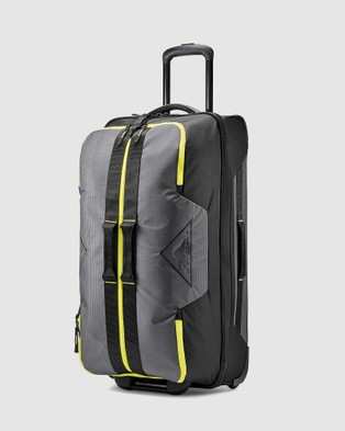 High Sierra Dells Canyon 86cm Wheeled Duffle - Duffle Bags (Mercury & Yellow)