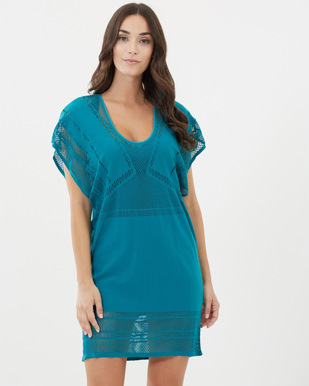 JETS Kaftan Swimwear Green Kaftan