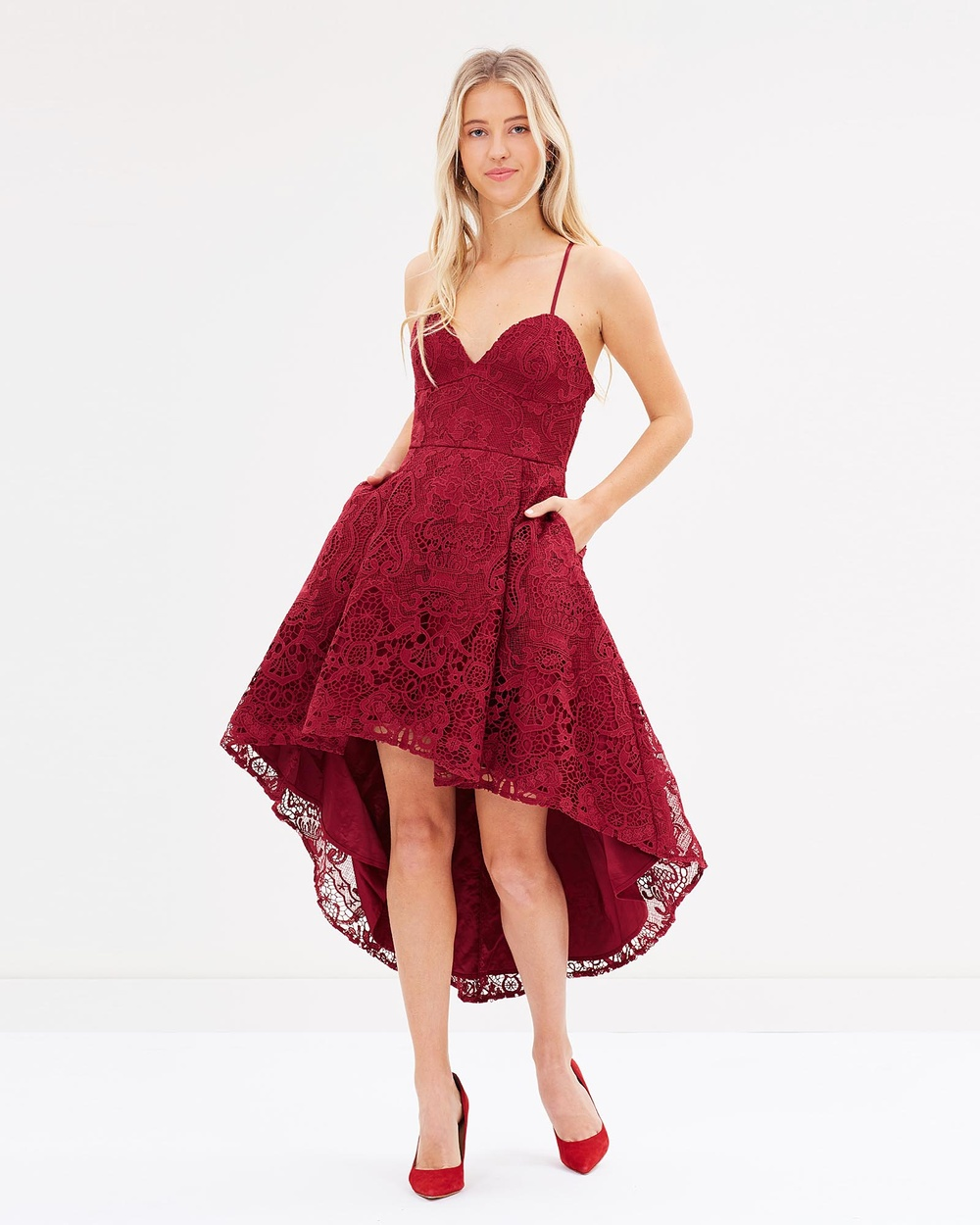 Twosister's The Label Marilyn Dress Bridesmaid Dresses Burgundy Marilyn Dress