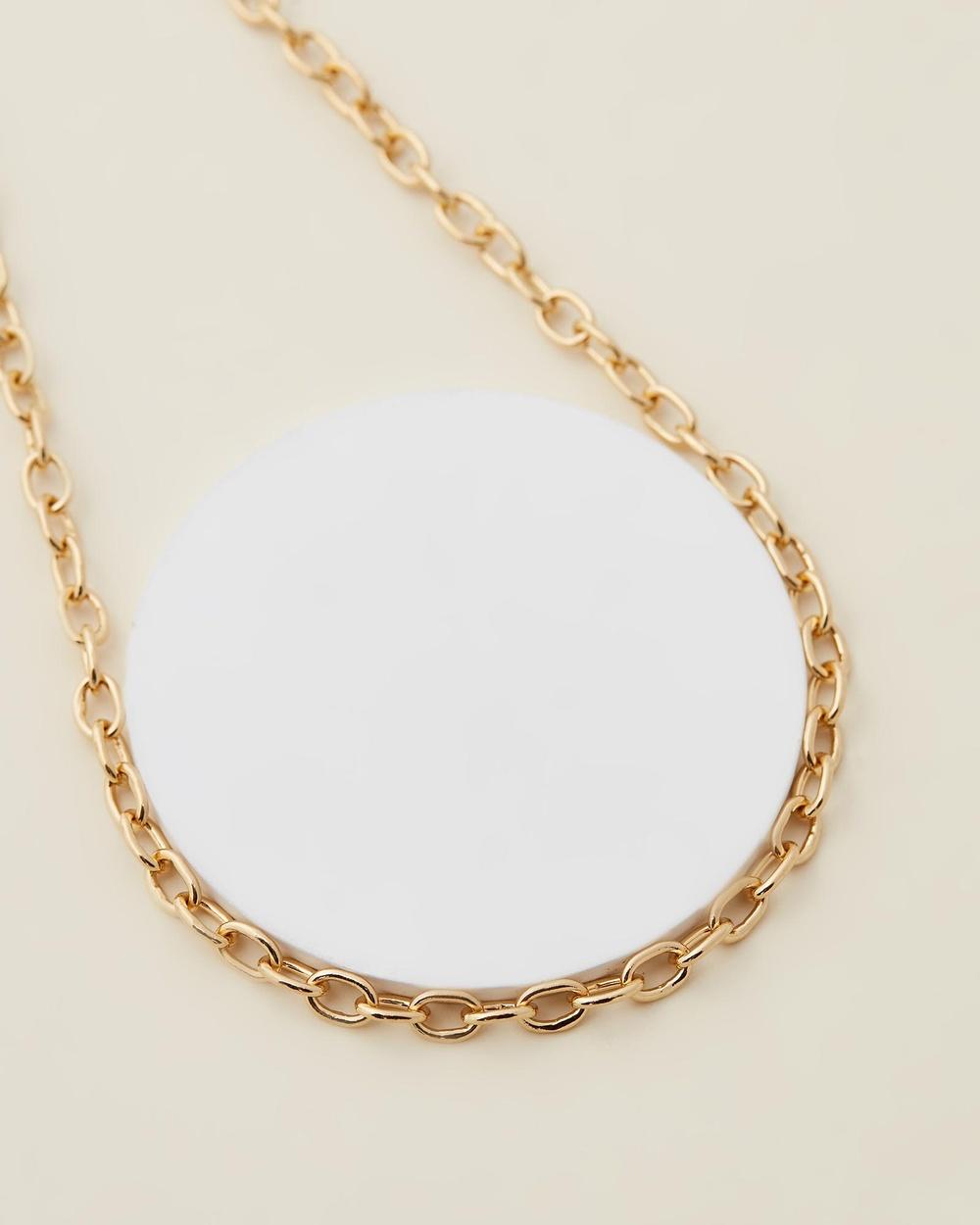 Jackie Mack Playa Necklace Jewellery 18k Yellow Gold Vermeil
