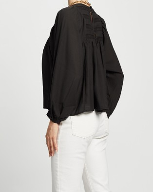 Wish The Label La Costa Blouse - Tops (Black)