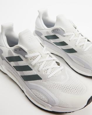 Australia adidas Performance Solar Boost 21 Men's Shoes White, Blue Oxide & Dash Grey