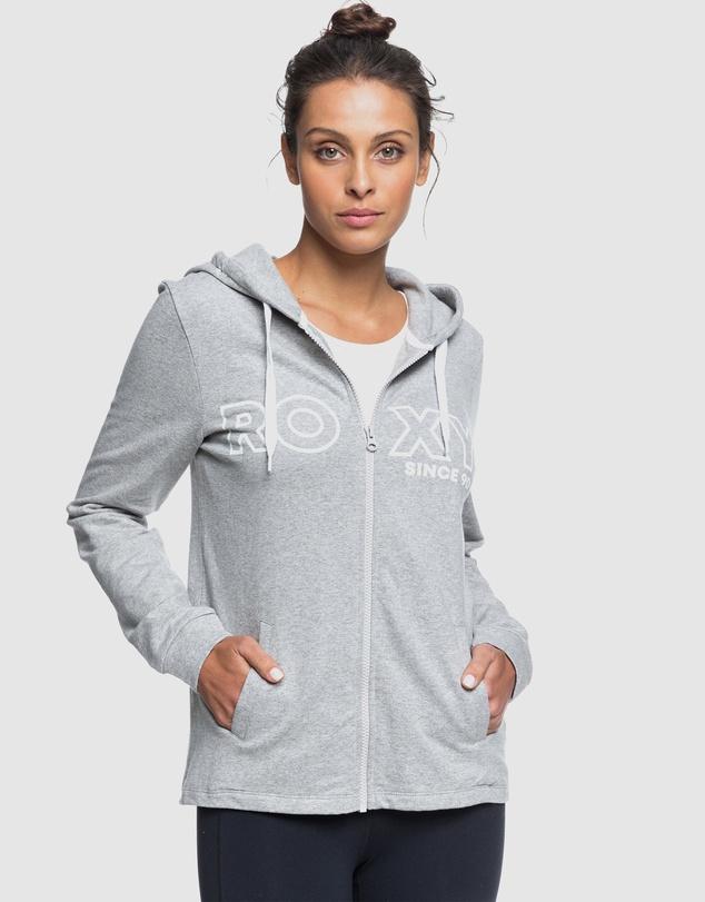 Women Womens Down On Me Zip-Up Fleece Hoodie
