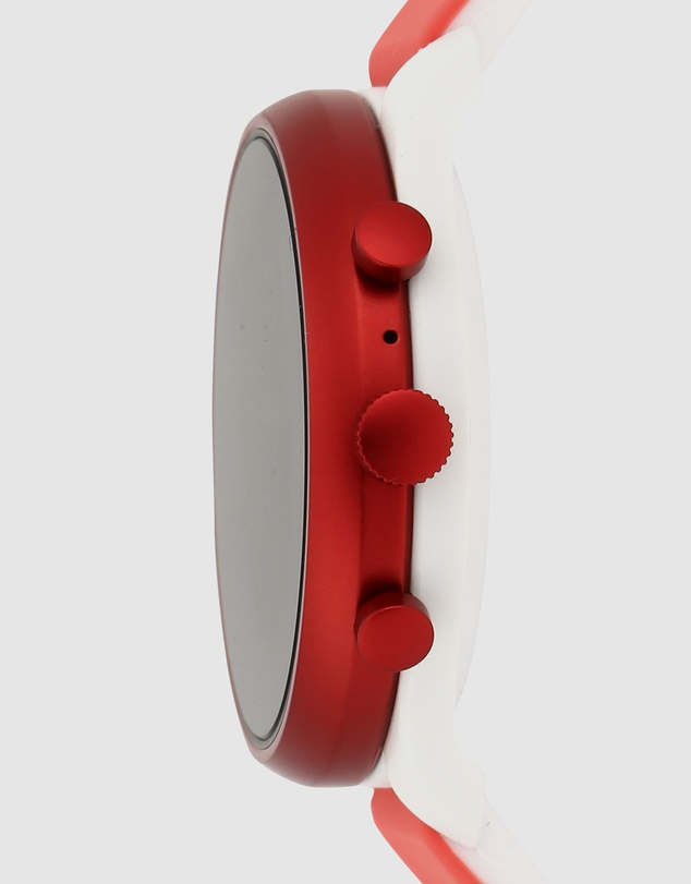Fossil - Fossil Sport Smartwatch - 41mm Red Silicone