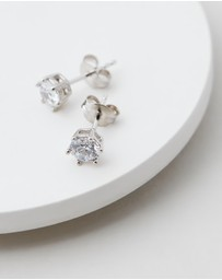 Michael Hill - Stud Earrings with Cubic Zirconia
