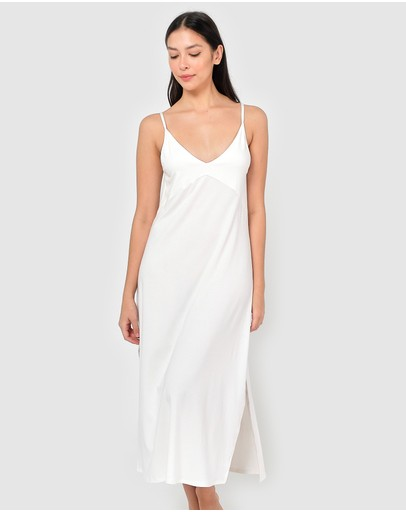 Sleepy Dee Susanna Nightdress White