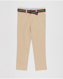 Polo Ralph Lauren - Belted Super Skinny Chino Pants - Kids