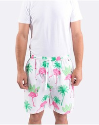 Sant And Abel - Flamingo Men's Sleep Shorts