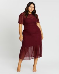 Atmos&Here Curvy - Genevieve Tiered Midi Dress